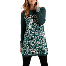Buy White Stuff Lou Lou Printed Knit Tunic Dress Online at johnlewis.com