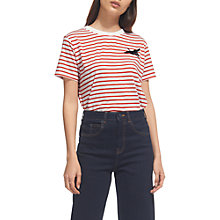Buy Whistles Crane Logo T-Shirt, Multi Online at johnlewis.com