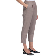 Buy Whistles Mini Check Cropped Trousers, Multi Online at johnlewis.com