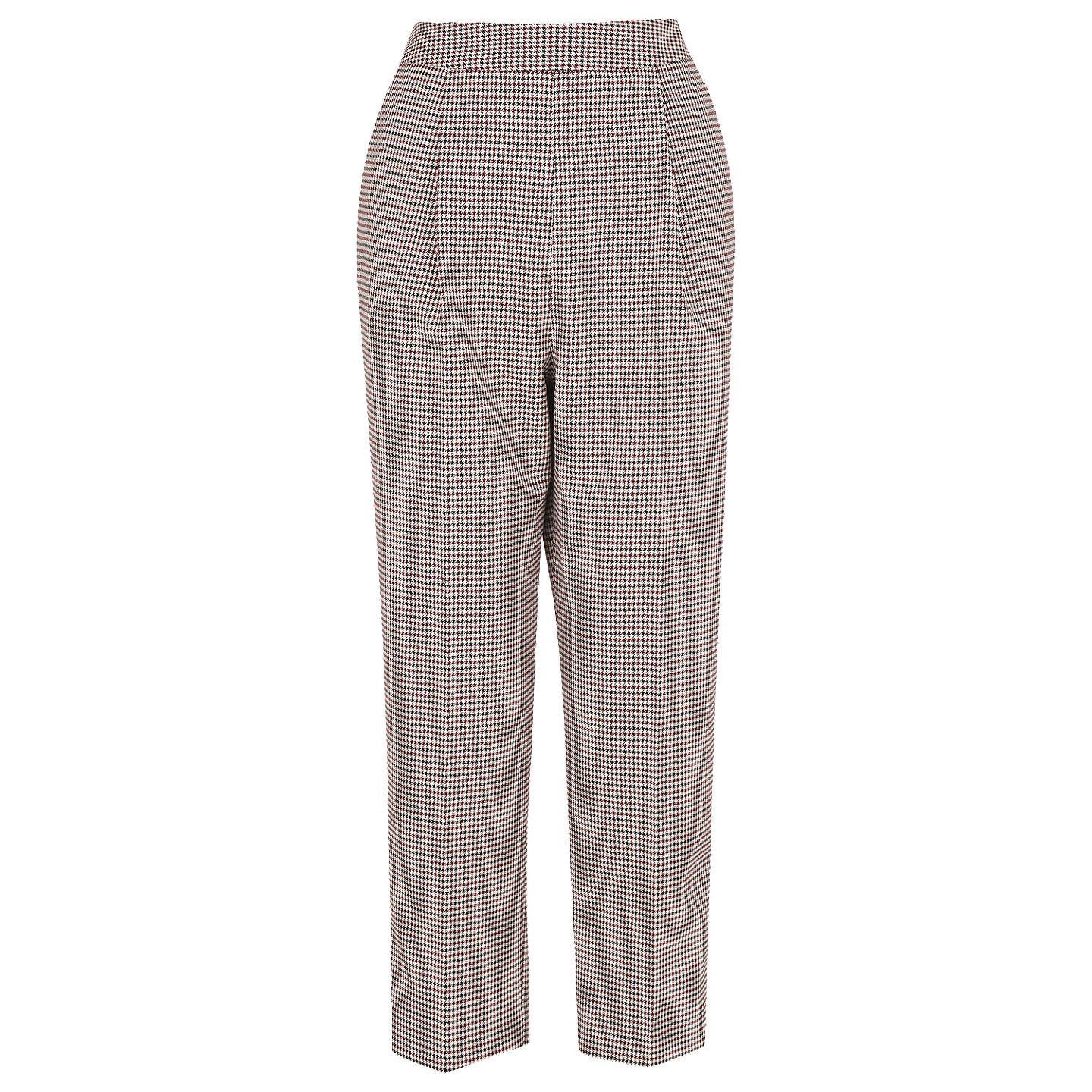 BuyWhistles Mini Check Cropped Trousers, Multi, 8 Online at johnlewis.com