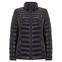 Buy Mint Velvet Lightweight Padded Jacket, Dark Blue Online at johnlewis.com