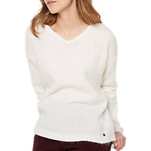 Buy White Stuff Fluffy Jumper, Cream Online at johnlewis.com