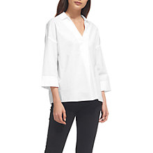 Buy Whistles Lola Shirt, White Online at johnlewis.com