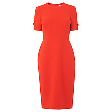 Buy L.K.Bennett Trinu Tailored Dress, Tomato Red Online at johnlewis.com
