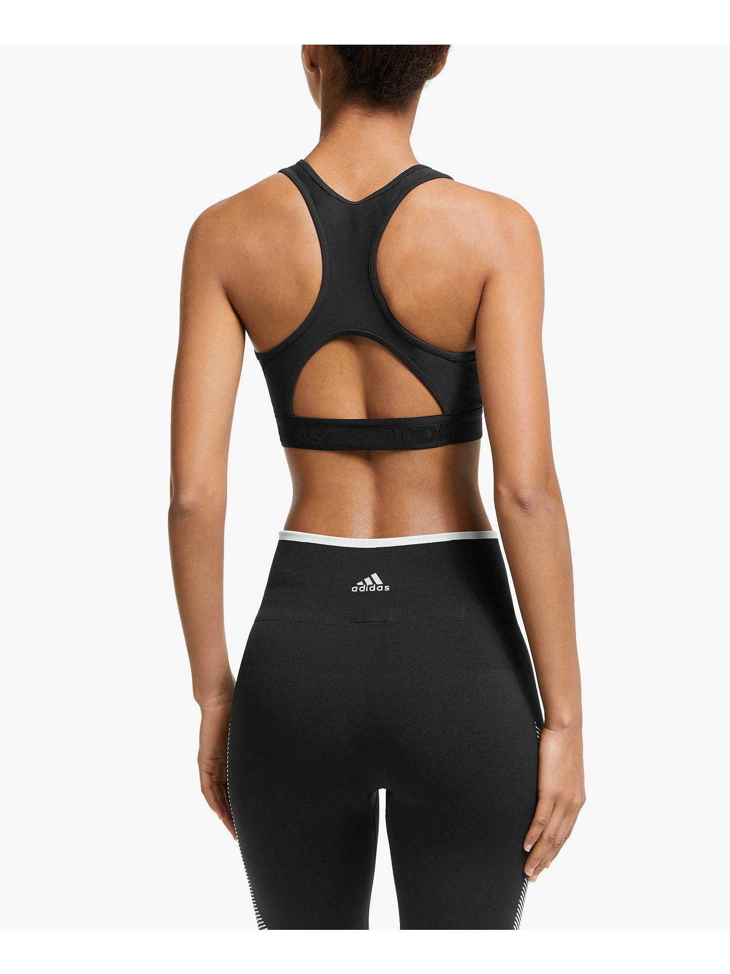 242ee444dbf adidas Don't Rest Alpha Skin Sports Bra, Black
