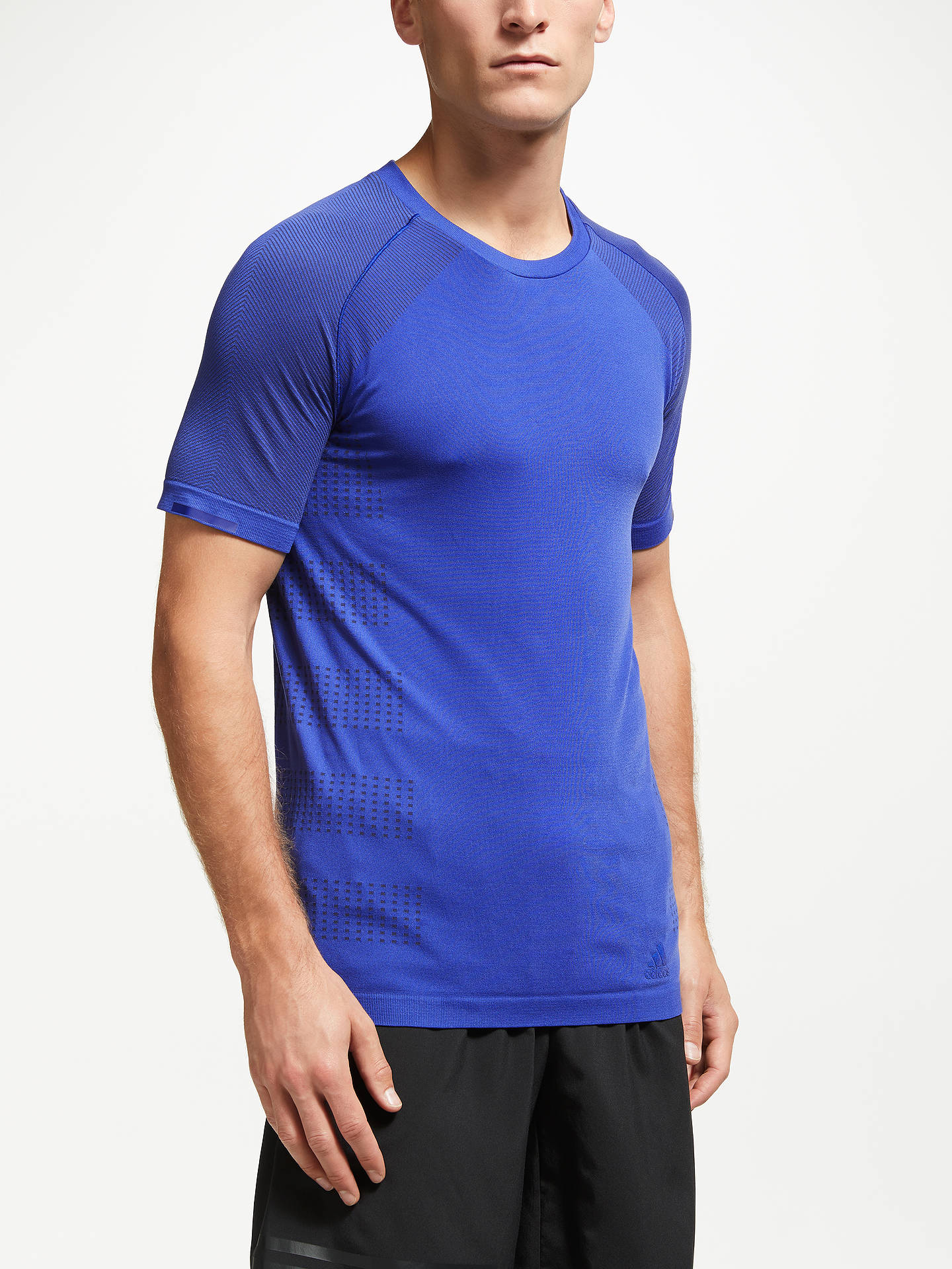 Buy adidas Ultra Light Running Top, Mystery Ink/Collegiate Navy, S Online at johnlewis.com