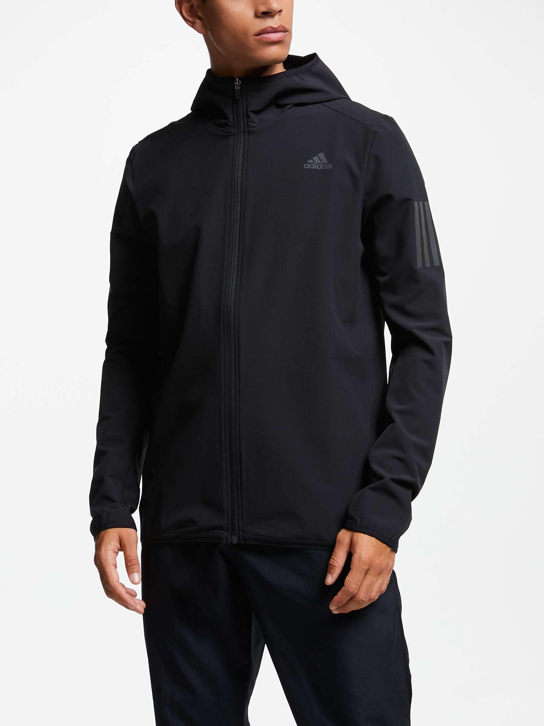 kauneus verkkokauppa verkkokauppa adidas Response Men's Running Jacket, Black