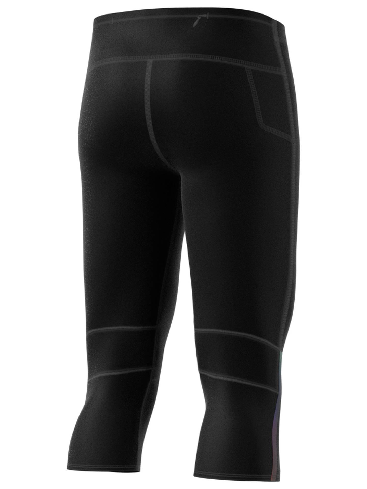 Buyadidas Supernova Running Tights, Black, S Online at johnlewis.com