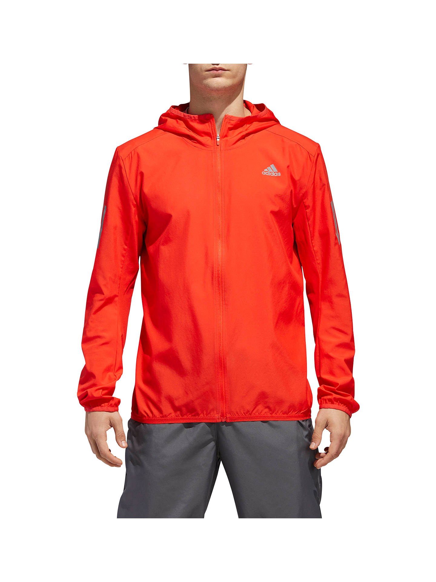 e1f88ccc9 Buy adidas Response Men's Running Jacket, High Resolution Red, High  Resolution Red, S ...