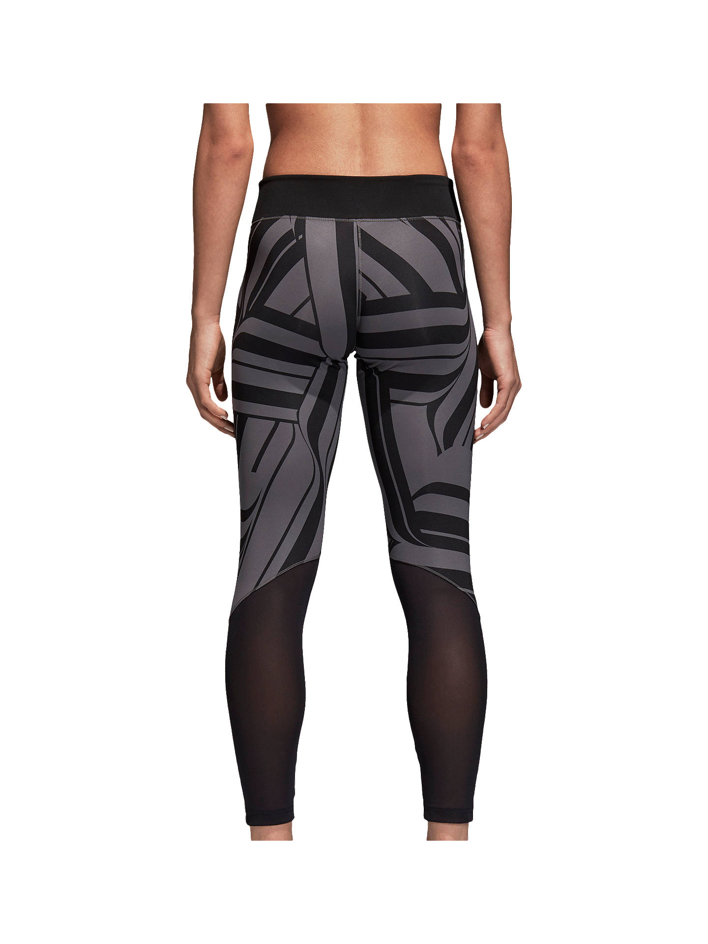 Buyadidas D2M Training Tights, Black, XS Online at johnlewis.com