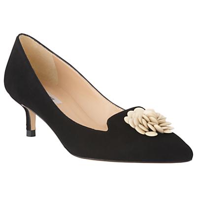 L.K.Bennett Sonya Kitten Heel Embellished Court Shoes Review
