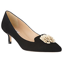 Buy L.K.Bennett Sonya Kitten Heel Embellished Court Shoes Online at johnlewis.com
