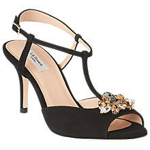 Buy L.K.Bennett Yvette Embellished Stiletto Sandals Online at johnlewis.com