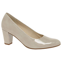 Buy Gabor Ruthin Wide Fit Block Heeled Court Shoes Online at johnlewis.com