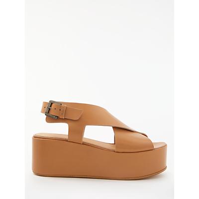 Modern Rarity Kara Flatform Sandals, Tan