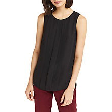 Buy Oasis Embellished Shell Top, Black Online at johnlewis.com