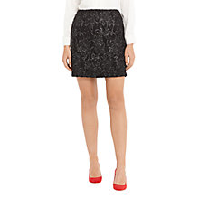 Buy Oasis Baroque Foil Popcorn Skirt, Multi Online at johnlewis.com
