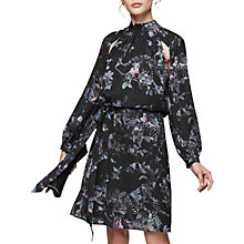 Buy Reiss Saturn Floral Print Mini Dress, Multi Online at johnlewis.com