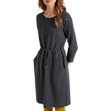 Buy White Stuff Myla Mini Spot Jacquard Dress, Grey Online at johnlewis.com
