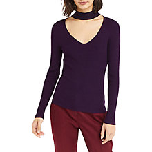 Buy Oasis Choker Knit Jumper Online at johnlewis.com