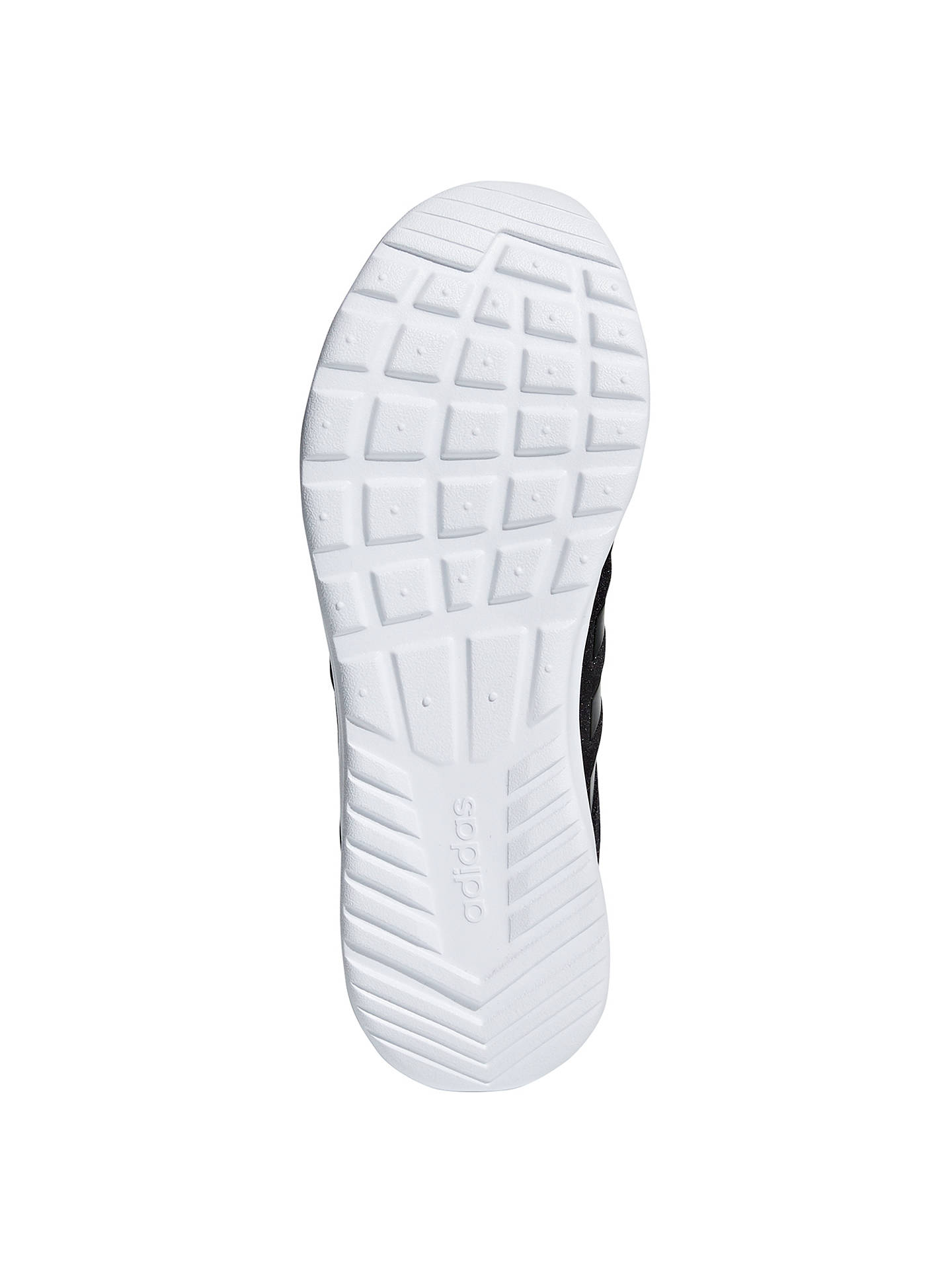 sports shoes a56ed dc305 ... Buyadidas Cloudfoam QT Racer Womens Trainers, Black, 4 Online at  johnlewis. ...