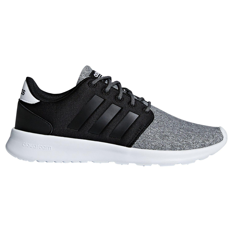 adidas cloudfoam ladies trainers black cheap online
