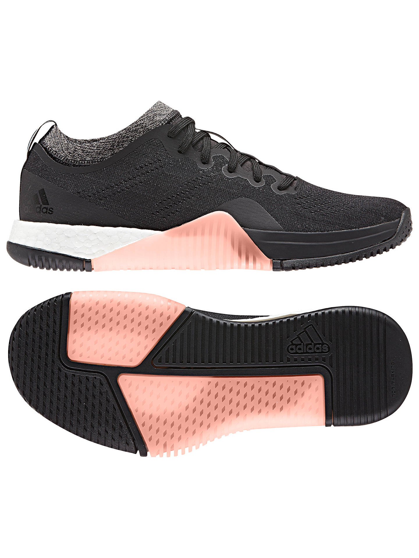 super popular d39a2 ee025 ... Buyadidas CrazyTrain Elite Womens Training Shoes, Core Black, 4 Online  at johnlewis. ...