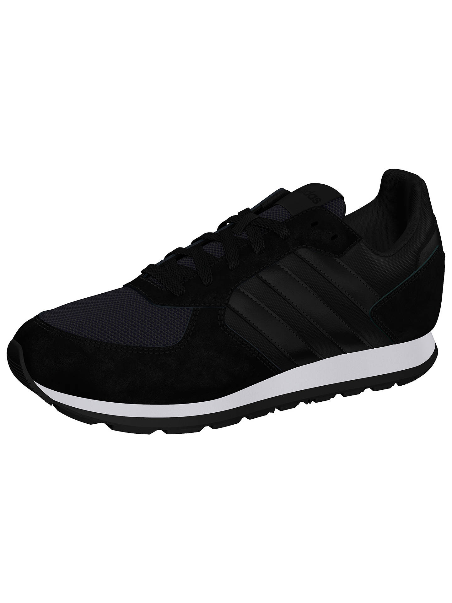 Buyadidas 8K Women's Trainers, Black, 4 Online at johnlewis.com