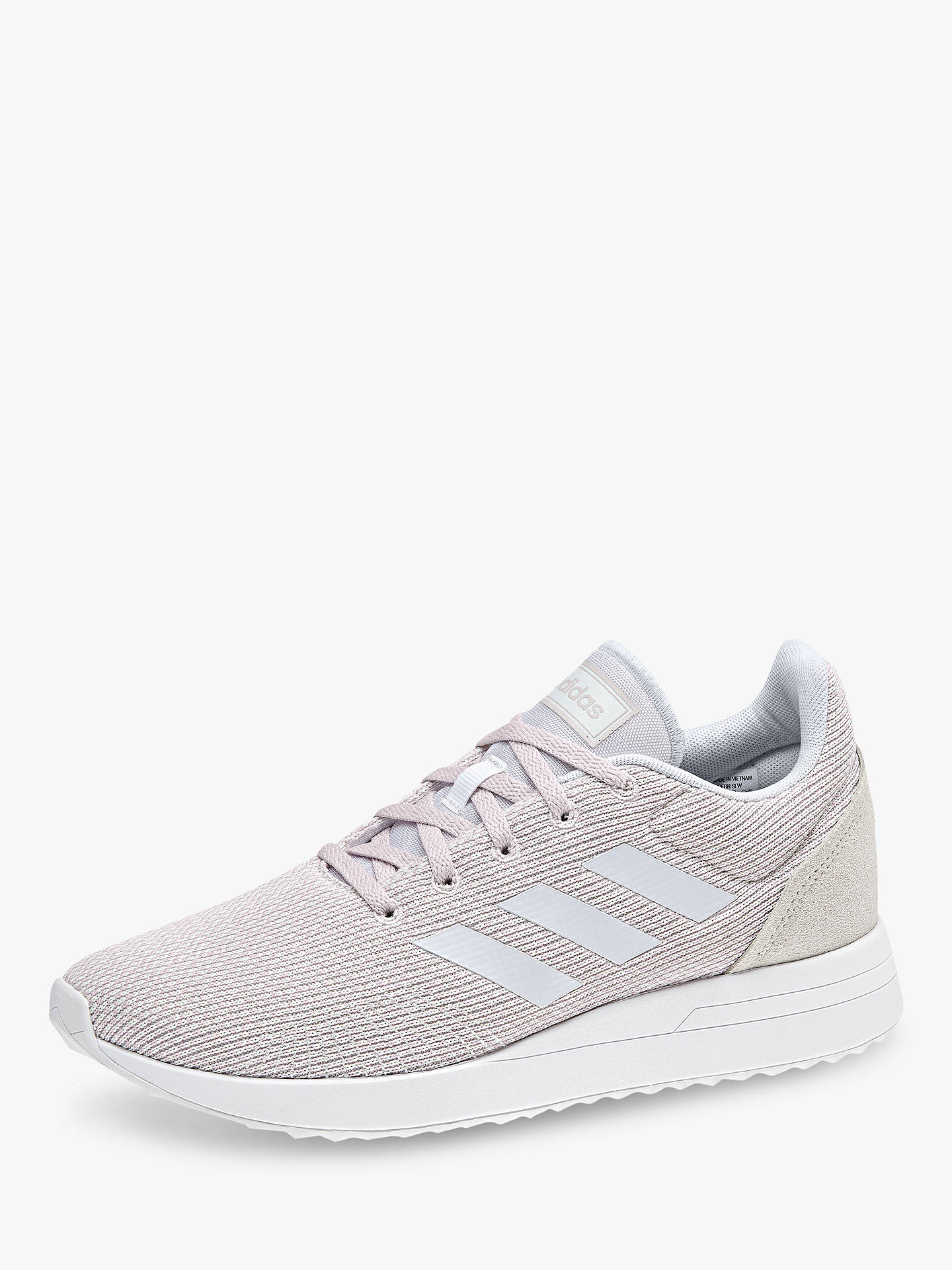 promo code c525d 43d7b ... Buy adidas Run 70s Women s Trainers, Crystal White, 4 Online at  johnlewis. ...
