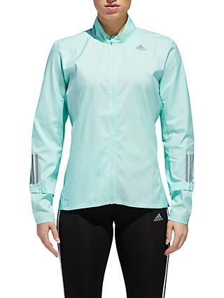adidas Response Running Women's Jacket, Clear Mint