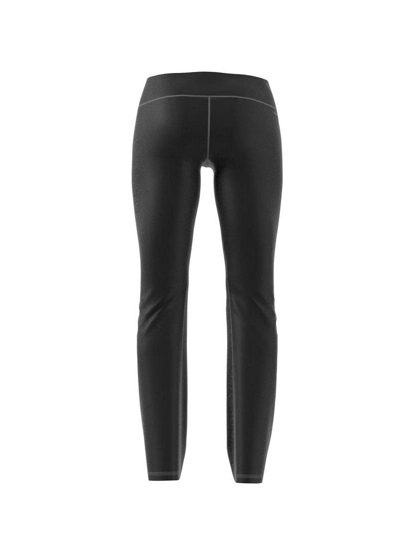 Buy adidas D2M Brushed Training Trousers, Black, XS Online at johnlewis.com
