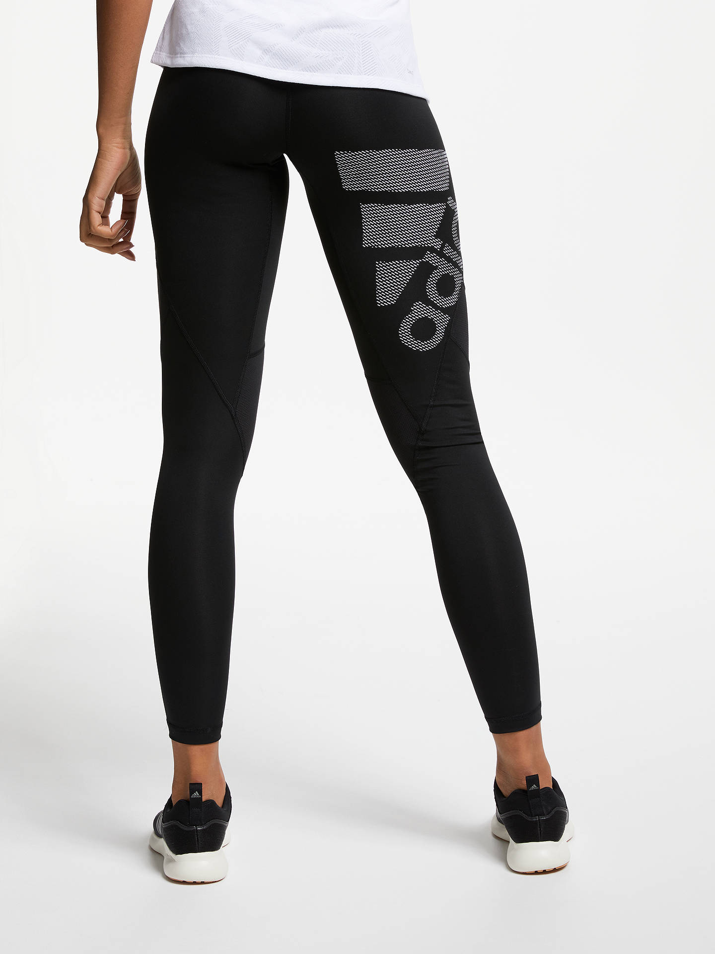 Buyadidas Ask SPR Training Tights, Black, XS Online at johnlewis.com