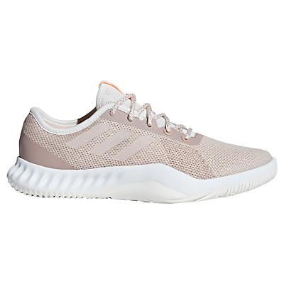 Adidas crazytrain e di formazione per le donne scarpe, nuvola bianca