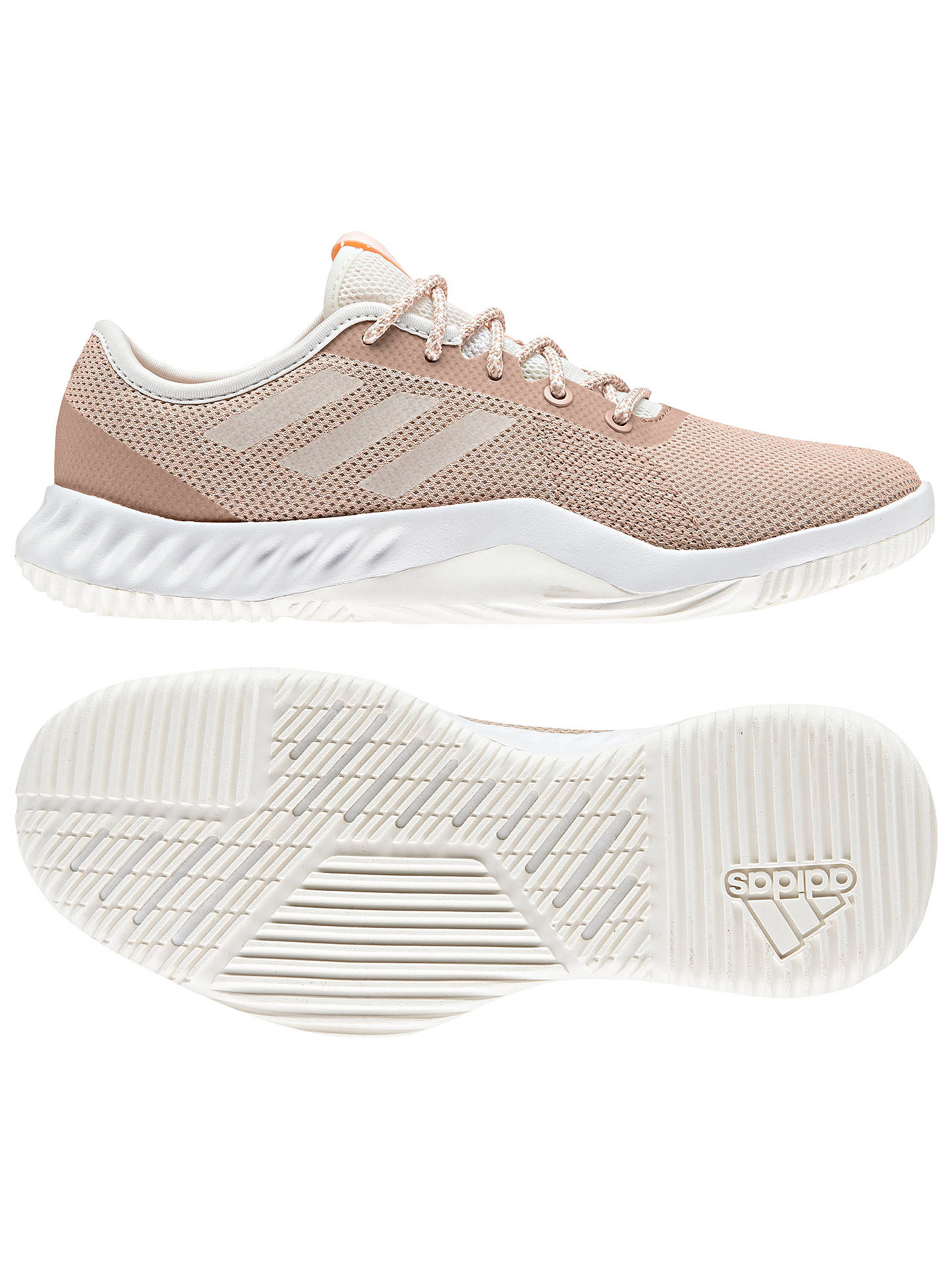 official photos 87795 cba84 ... Buyadidas CrazyTrain LT Womens Training Shoes, Cloud White, 4 Online  at johnlewis. ...
