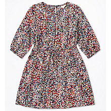 Buy Jigsaw Girls' Confetti Print Dress, Navy Online at johnlewis.com