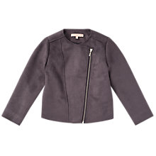 Buy Jigsaw Girls' Suedette Jacket Online at johnlewis.com