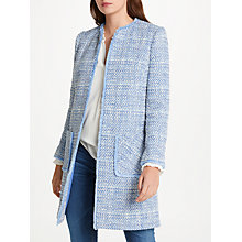 Buy Helene For Denim Wardrobe Alice Jacket, Blue/Ivory Online at johnlewis.com