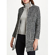 Buy Helene For Denim Wardrobe Alice Jacket, Black/Cream Online at johnlewis.com