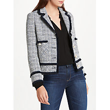 Buy Helene For Denim Wardrobe Ava Boxy Jacket, Blue Online at johnlewis.com