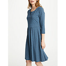 Buy Seasalt Kestrel Dress, Coffee Stamp Night Online at johnlewis.com