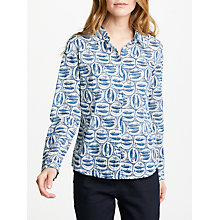 Buy Seasalt Larissa Shirt, Mackerel Plates Salt Online at johnlewis.com