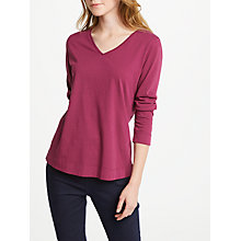 Buy Seasalt Lowena V Neck Top Online at johnlewis.com