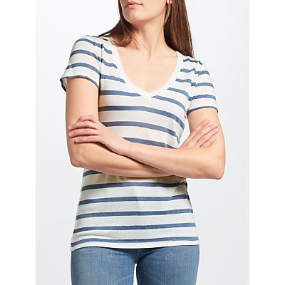 Levi's Essential V-Neck Stripe T-Shirt