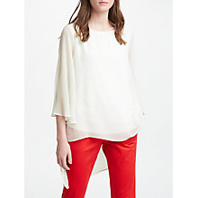 Buy Marella Long Sleeve Blouse, Cream Online at johnlewis.com