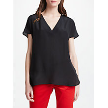 Buy Marella Woven Top, Black Online at johnlewis.com
