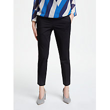 Buy Marella Slim Trousers, Black Online at johnlewis.com