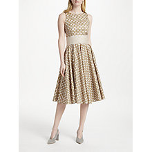 Buy Marella Sleeveless Print Midi Dress, Rope Online at johnlewis.com