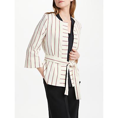Marella Salubre Stripe Jacket, Wool White