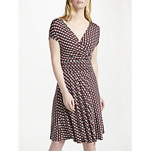 Buy Marella Jersey Print Dress, Red Online at johnlewis.com