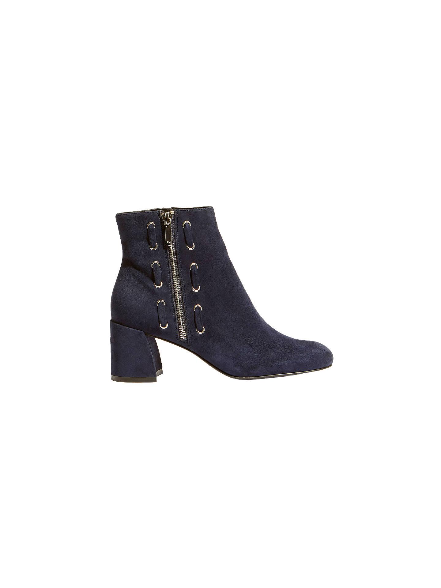 51216cc6b2b Buy Karen Millen Block Heel Ankle Boots